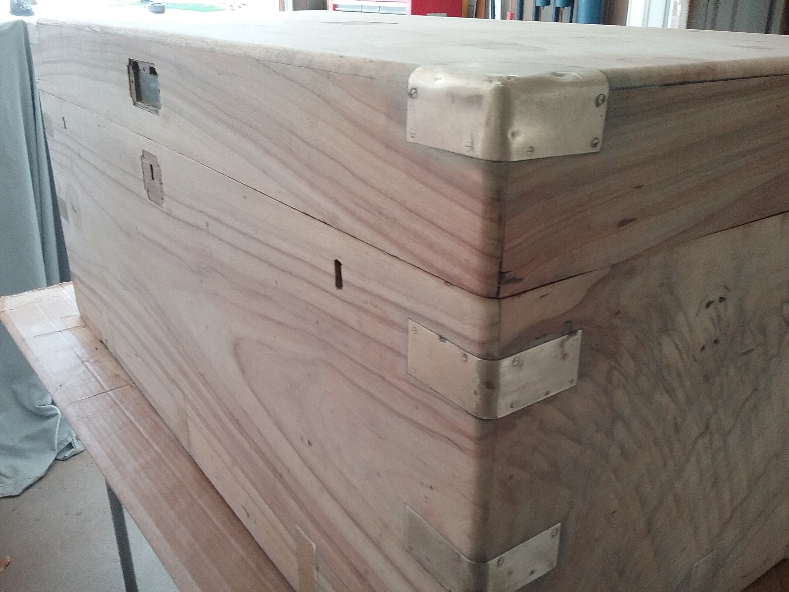 camphor chest repair