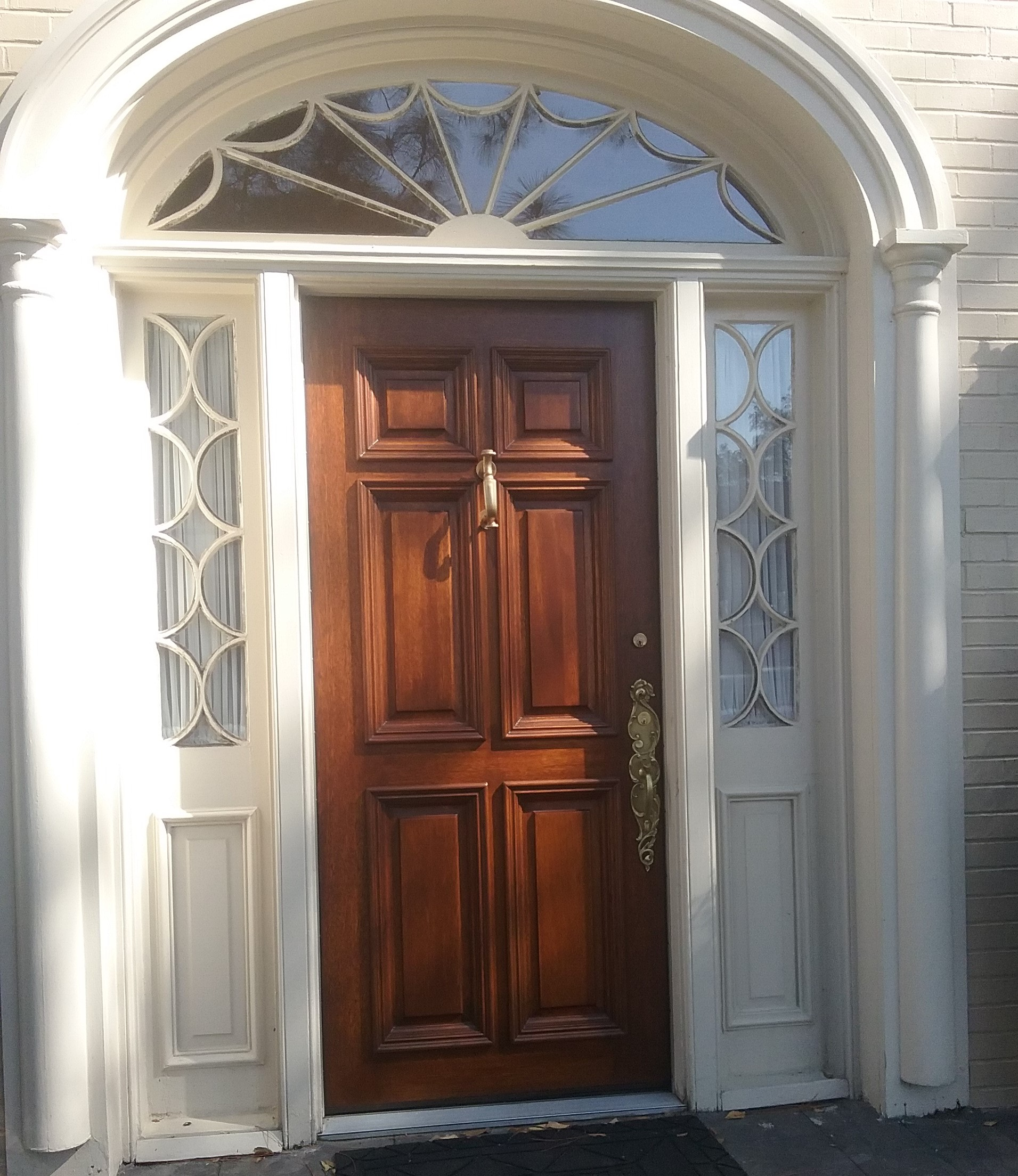 door refinishing | Heirloom Restored