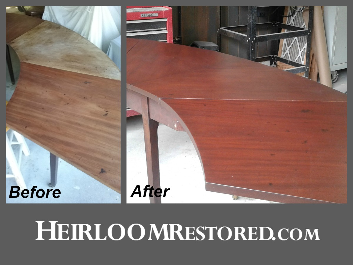Refinished hunt table | Heirloom Restored