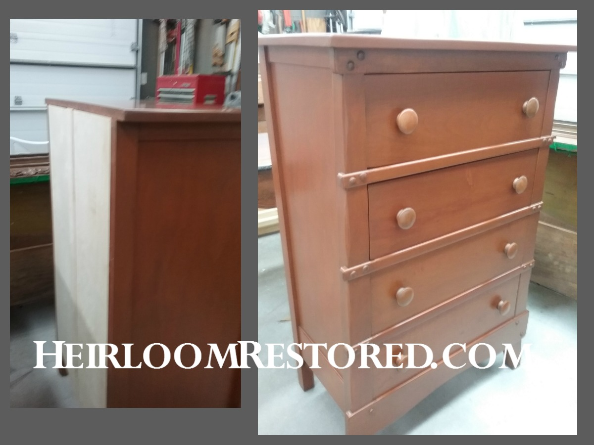 Refinished chest
