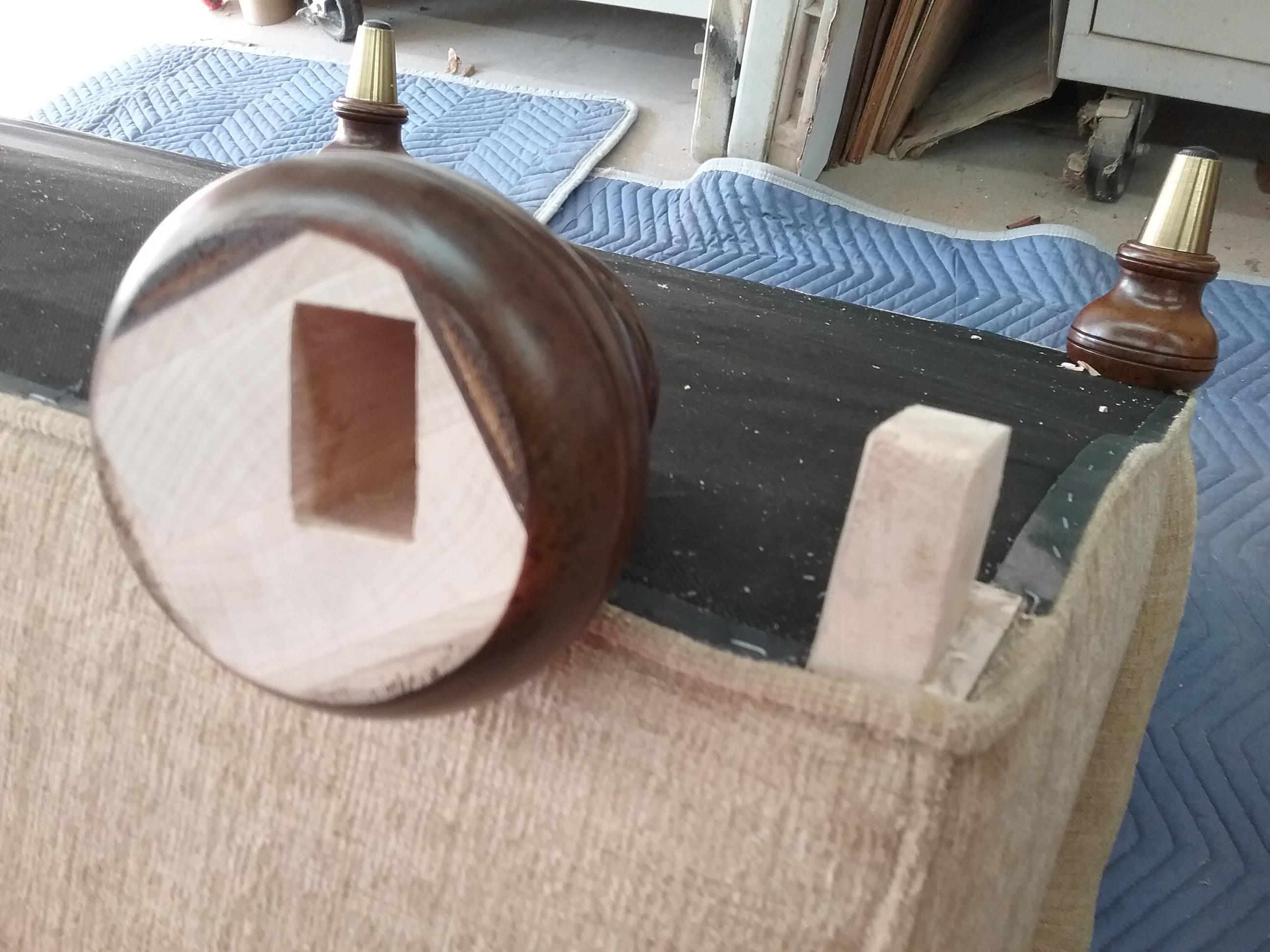mortise and tenon sofa repair